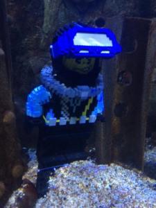 sealife diver lego